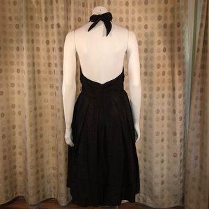 Adriana Papell, Black Halter Dress